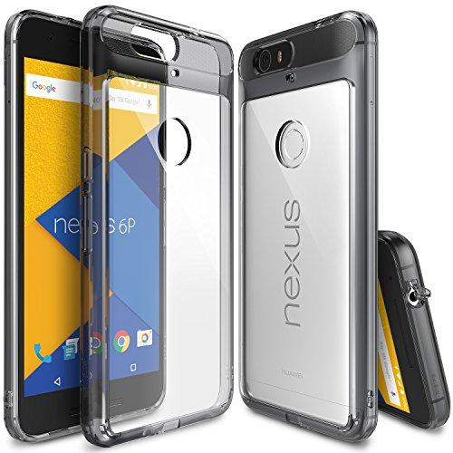 Funda Nexus 6P - Ringke FUSION [SMOKE BLACK]** Choque Absorción TPU Parachoques...