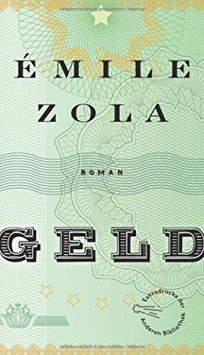 Geld (Die Andere Bibliothek, Band 28)
