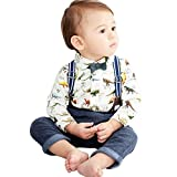Best Mud Pie Clothing For Boys - Big Promotion!PLOT Clearance 3Pcs Baby Boys Dinosaur Gentleman Review