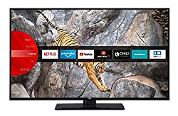 JVC LT-50V65LUA 127 cm (50 Zoll) Fernseher (4K Ultra HD, HDR10, Dolby Vision HDR, Triple Tuner, Smart TV, Bluetooth, Works with Alexa)