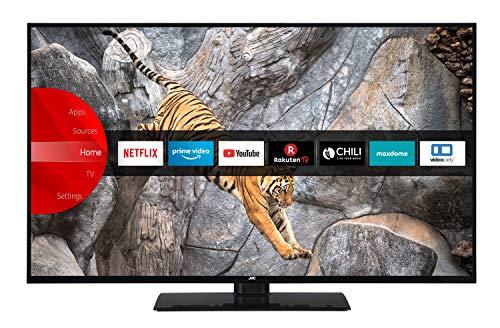 JVC LT-40V65LUA 102 cm (40 Zoll) Fernseher (4K Ultra HD, HDR10, Dolby Vision HDR, Triple Tuner, Smart TV, Bluetooth)