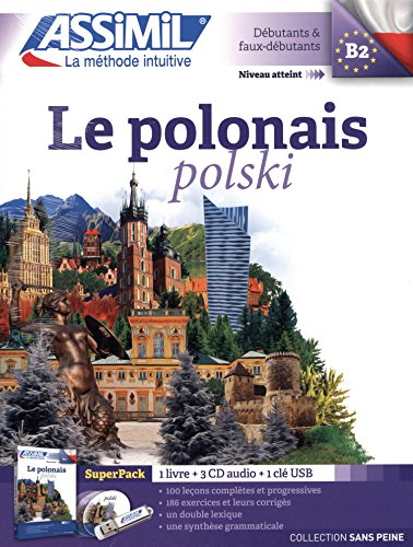 Le Polonais Super pack (livre+3 CD audio+1clé USB)