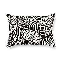 Zebra Texture Throw Pillow Case 20 X 30 Inches / 50 By 75 Cm For Wife Deck Chair Gf Coffee House Indoor Husband With Each Side
