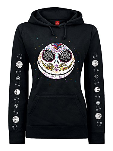 The Nightmare Before Christmas Sugarskull Felpa donna nero M
