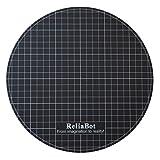 ReliaBot Durchmesser 238mm Heizbett Build Oberfläche für 3D-Drucker 240mm Runde Platte (Matte Sticker)