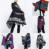 Nuohuilekeji. Damenmode Schal, Herbst Und Winter Multicolor Farbabstimmung...