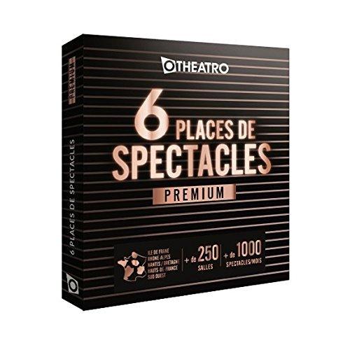 Coffret OtheatrO 6 places de Spectacles Premium – 300 salles partenaires