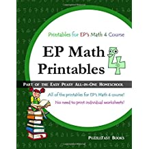 EP Math 4 Printables: Part of the Easy Peasy All-in-One Homeschool
