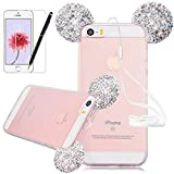 Best Comprar 5s Iphone - 3D Cartoon Glitter Rhinestone Funda para iPhone SE Review