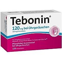 Tebonin 120 mg bei Ohrgeräuschen Filmtabletten 120 stk preisvergleich bei billige-tabletten.eu