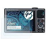 Bruni Schutzfolie für Canon PowerShot SX620 HS Folie - 2 x glasklare Displayschutzfolie