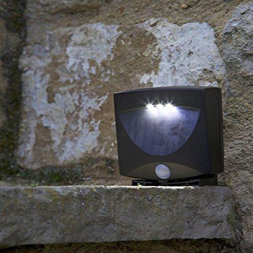Smart Solar 07479applica a parete 3LED' s con Radar (3 Radar)