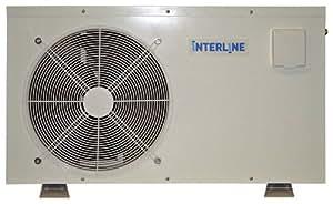 Interline BP-50HS-A Wärmepumpe 5,1 kW für 30 m³