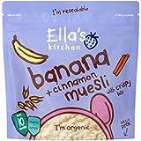 Cuisine Banane Et La Cannelle Muesli De 215G De Ella - Paquet de 4