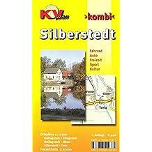 Silberstedt: 1:12.500 Amtsplan mit Freizeitkarte 1:25.000 inkl. Radrouten (KVplan-Kombi-Reihe / http://www.kv-plan.de/reihen.html)