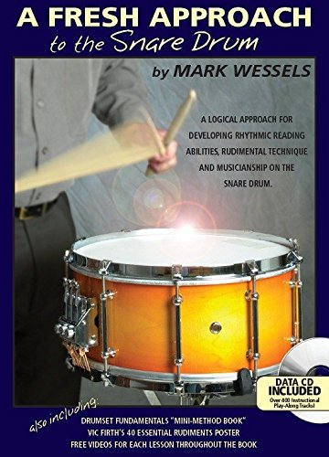 mark-wessels-a-fresh-approach-to-the-snare-drum-partitions-cd-pour-batterie-percussion