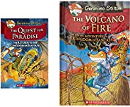 Geronimo Stilton - The Quest for Paradise: The Return to the Kingdom of Fantasy: 2 + The Volcano of Fire: 5 Ge