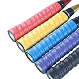 Senston 5 Pack Anti Slip Perforated Super Absorbent Tennis Overgrip Badminton Overgrip
