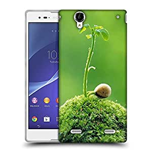 Snoogg Snail life Designer Protective Back Case Cover For Sony Xperia T2 Ultra