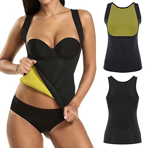 Abnehmen Körper Shaper Neopren Taillengürtel Körperformer Trainings Korsett Sweat Abnehmen Weste für Fettbrenner