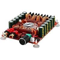 Ballylelly TDA7498E Panel de Amplificador Digital de Potencia de Salida Alta 160W + 160W Módulo de Amplificador de Potencia estéreo de Audio de Canal Dual