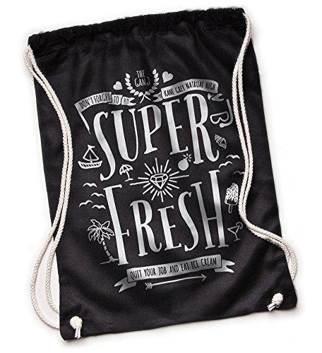 Kane Grey - Super Fresh - Turnbeutel Schwarz