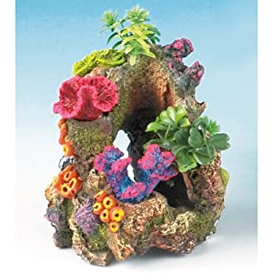 """Coral Gardens 5"""" Fish Tank Ornament by Monster Pet Supplies"""