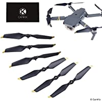 Propellers for DJI Mavic Pro / Platinum - 6 Blades - Low Noise - Quick Release Foldable Wings - Flight Tested Design - Essential Accessory for your DJI Mavic Pro / Platinum