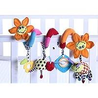 Cot Toys Hängenden Spielzeug Schlafkomfort gefüllte Weichen Plüsch Puppen Spielzeug für Baby Kind (Sonnenblume) preisvergleich bei kleinkindspielzeugpreise.eu