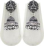 Shubh Gems German Silver Earrings for Wo...