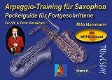 Arpeggio-Training für Saxophon - mit MP3s und Akkordtabelle zum Download - Improvisations-Übungen