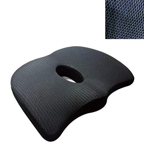 RUNWEI Autositz Memory Foam Sitz Und Rückenkissen, Autositz, Lindern Das Steißbein, Rückenschmerzen (Color : Bronze) - Sommer Bronze Kit