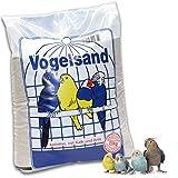 25kg sabbia per uccelli, con calcare e anice