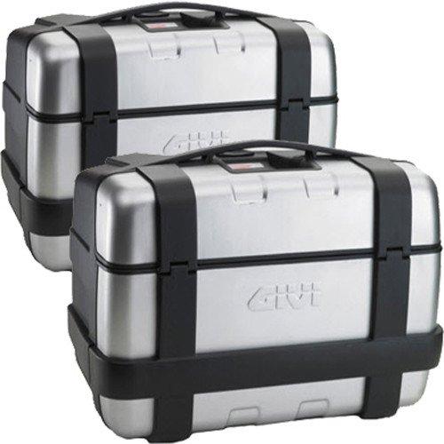 Givi TRK46N Trekker Monokey Baúl Negro Cover Aluminio
