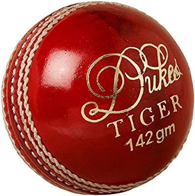Duques de críquet para oficial partido torneo jugando tigre Bola