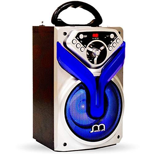 Altavoz Karaoke Bluetooth Portátil Radio/ FM/MP3
