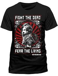 CID Men's Walking Dead-Fear The Dead T-Shirt