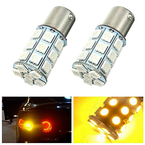 pair-21-w-5050-27smd-led-auto-turn-signal-light-tail-lamp-reverse-bulb-yellow-12-v