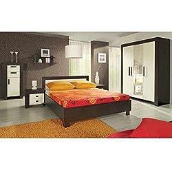 JUSThome Cezar Conjunto dormitorio habitación de matrimonio Color Milano / Crema