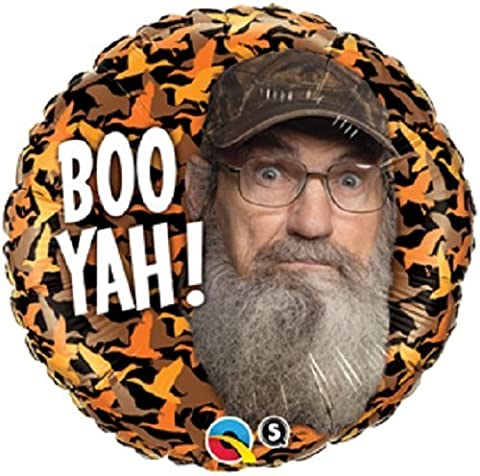 1 BALLOON foil new DUCK DYNASTY uncle CY BOO YAH !! party GIFT any occasion by PBC
