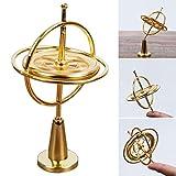 FOONEE Juguete de giroscopio de Metal con Pedestal, Juguete Giratorio de Equilibrio para niños y Adultos, Juguete Interesante y Regalo