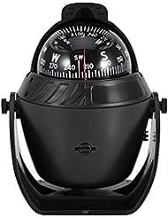 Elektronische Kugel Kompass Für Auto Boot Marine Kompass LED Licht Kompass Camping Kompass
