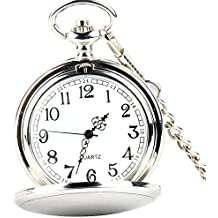 nuovo stile 2afb5 b38cb Amazon.it: orologio da taschino - Argento