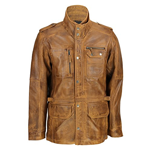 edba5ad4aa35 Xposed - Chaqueta - para Hombre Beige Timber Large
