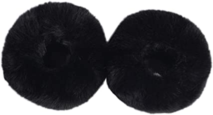 Voberry Women's Winter Faux Fur Short Wrist Cuff Warmers for Winter Clothes Sleeve Decoration