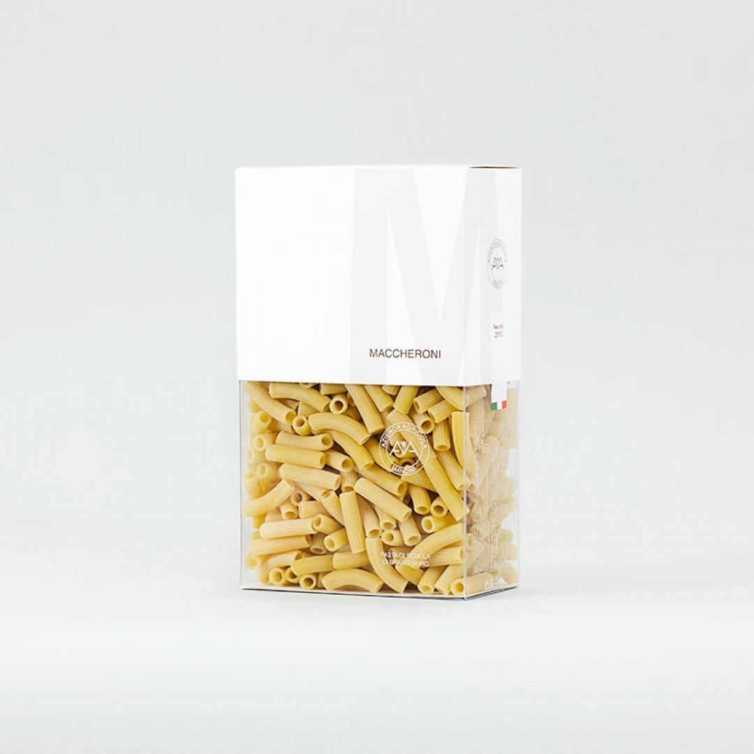 Mancini Pastificio Agricolo - Maccheroni astuccio 1000 g - 10 Pezzi