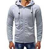 Pullover Herren Winter Langarm Herbst Casual Kapuzenpullover Sweatshirt Hoodies Top Bluse Trainingsanzüge SANFASHION