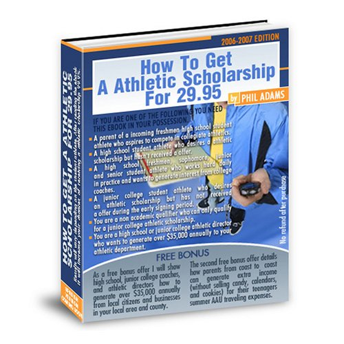 How To Get An Athletic Scholarship For $29.95 (English Edition) PDF Books