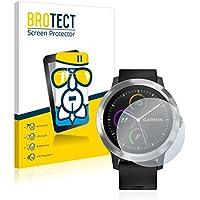 BROTECT Protector Pantalla Cristal para Garmin Vivoactive 3 Cristal Vidrio Glass Screen Protector - AirGlass