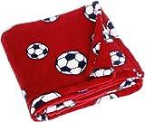 Playshoes 301702.0 Unisex Baby Bekleidungsset, Fleece, Babydecke, M, rot
